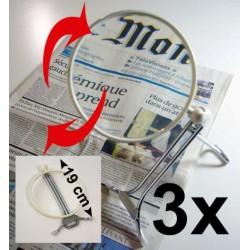 "Lupa manos libres Multifunciones 3x LOUPRATIC ""Basic"""