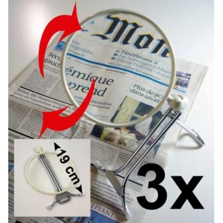"Loupe mains libres Multifonction 3x LOUPRATIC ""Basic"""