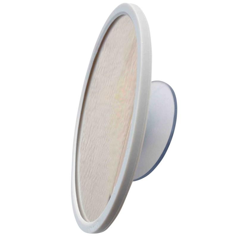 Grand miroir grossissant 6x ou 10x avec ventouse magn tique for Miroir ventouse grossissant