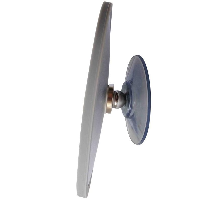 Grand miroir grossissant 6x ou 10x avec ventouse magn tique for Miroir grossissant ventouse