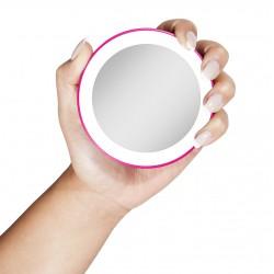 """MINI specchio ingrandente 10x o 15x con luce LED """"Nuova Generazione"""""""