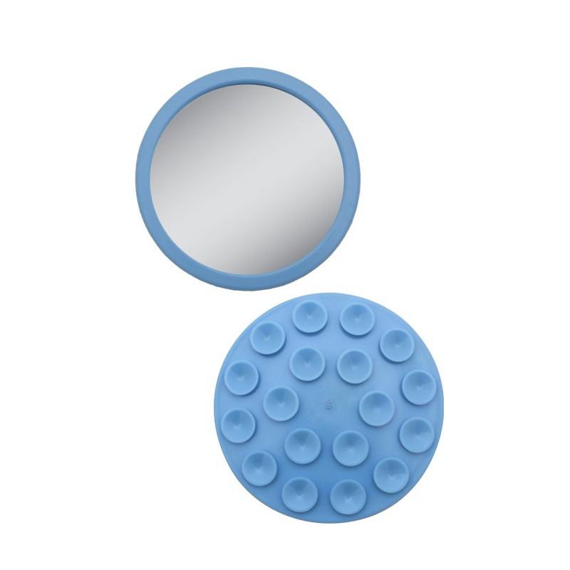Petit miroir de poche grossissant 12x for Petit miroir