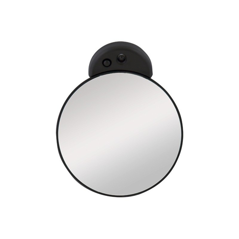 little magnifying mirror 15x with led light zadro. Black Bedroom Furniture Sets. Home Design Ideas