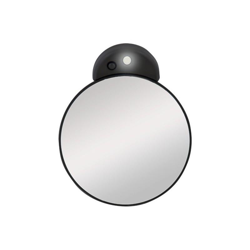 Petit miroir grossissant 15x avec lumi re led zadro for Miroir avec lumiere