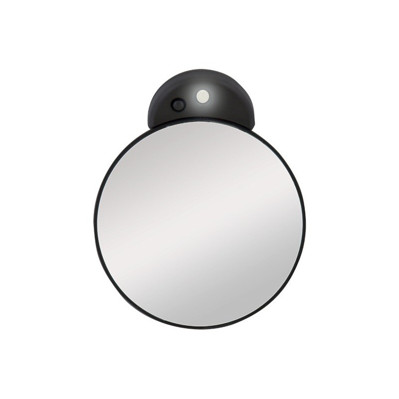 make up mirrors little magnifying mirror 10x with led light zadro. Black Bedroom Furniture Sets. Home Design Ideas