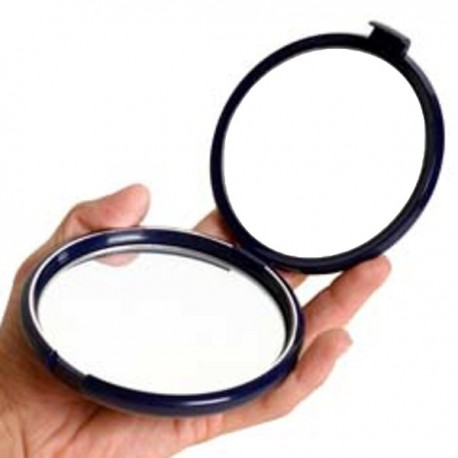 Miroir de poche grossissant 10x et 1x - FLOXITE
