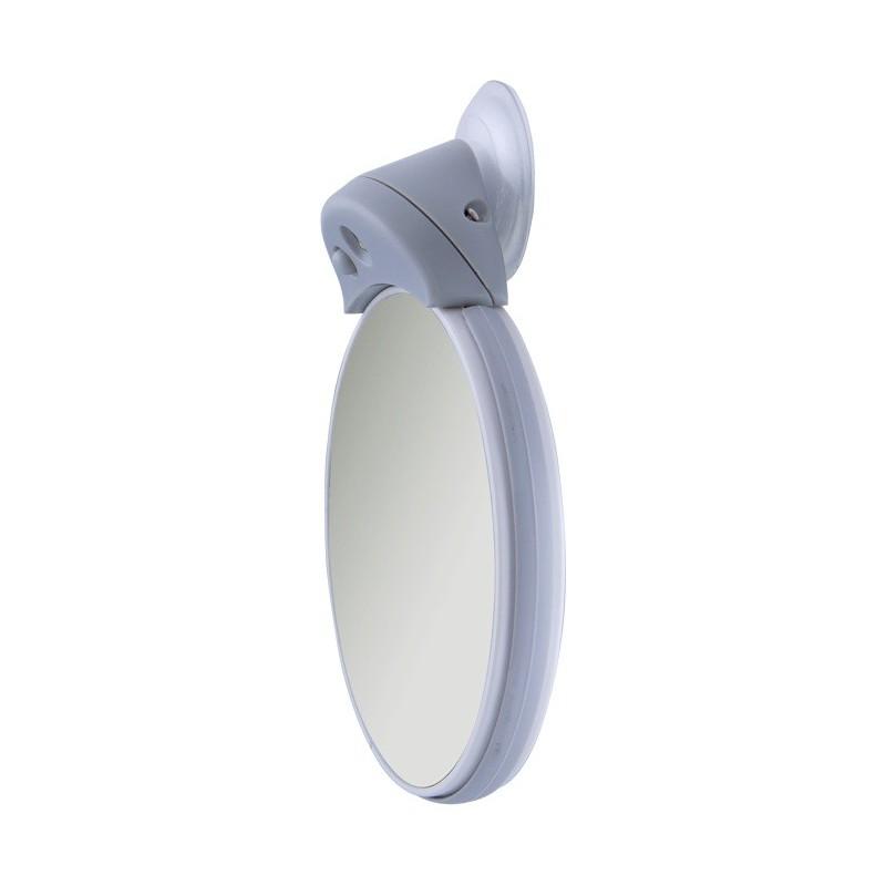 Petit double miroir grossissant 5x et 10x avec lumi re led for Miroir avec lumiere