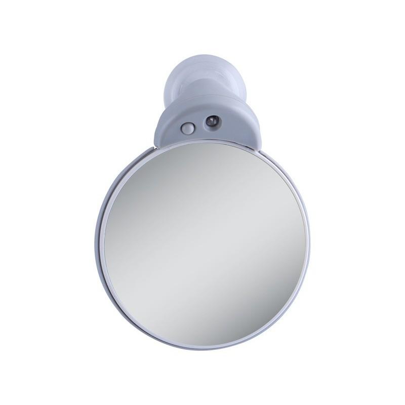 kleiner vergr sserungs doppelspiegel 5x 10x mit led licht. Black Bedroom Furniture Sets. Home Design Ideas