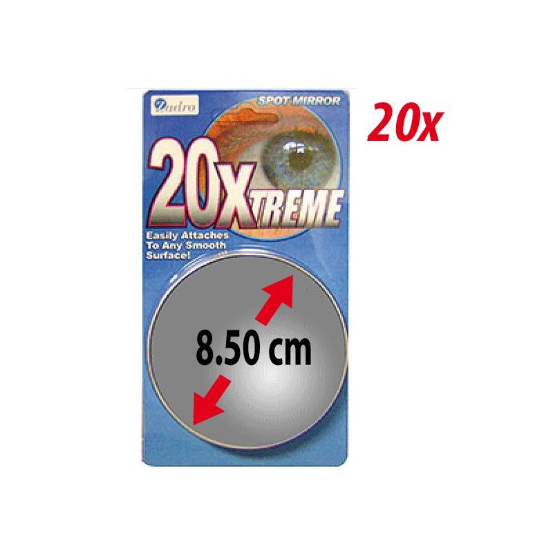 Little magnifying mirror 20x extreme zadro for Miroir grossissant x20