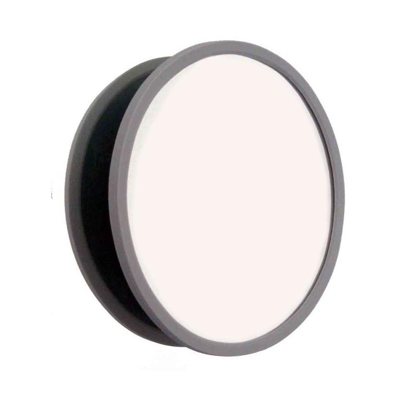 Grand miroir salle de bain grossissant x10 ventouse for Miroir incassable
