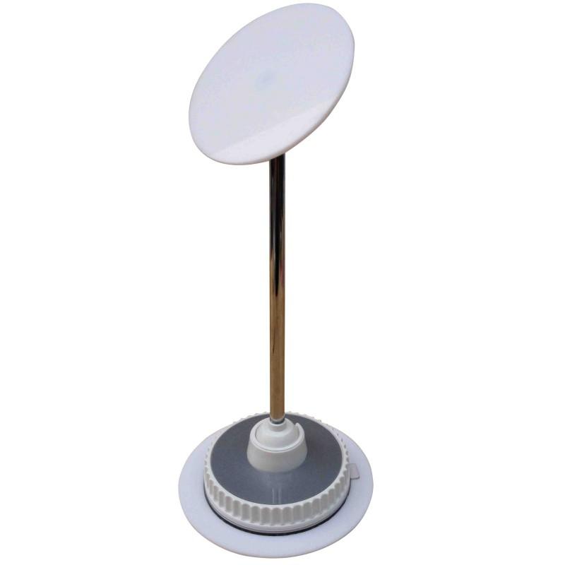 Bras intelligent t lescopique support pour miroirs ventouses for Miroir intelligent