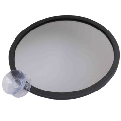 Miroir face normale - Diamètre 14cm - Double ventouse