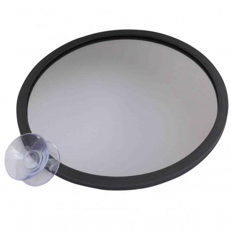 Normaler Spiegel - Diameter 14cm - Doppelsaugnapf