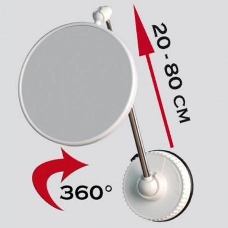 TWISTMIRROR miroir intelligent grossissant 6x ou 10x