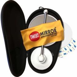 Specchio ingranditore x10 o x6, molto originale, in piedi o da parete