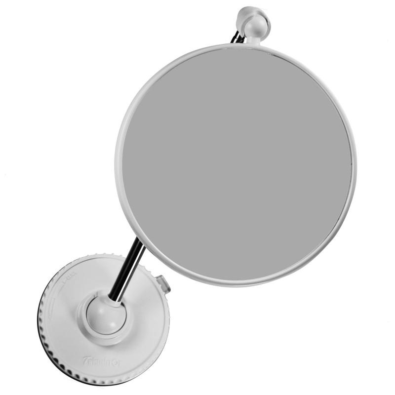 Miroir grossissant original x10 x6 sur pied ou mural for Miroir ventouse grossissant