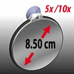 Doble espejo de aumento 5x/10x - ZADRO