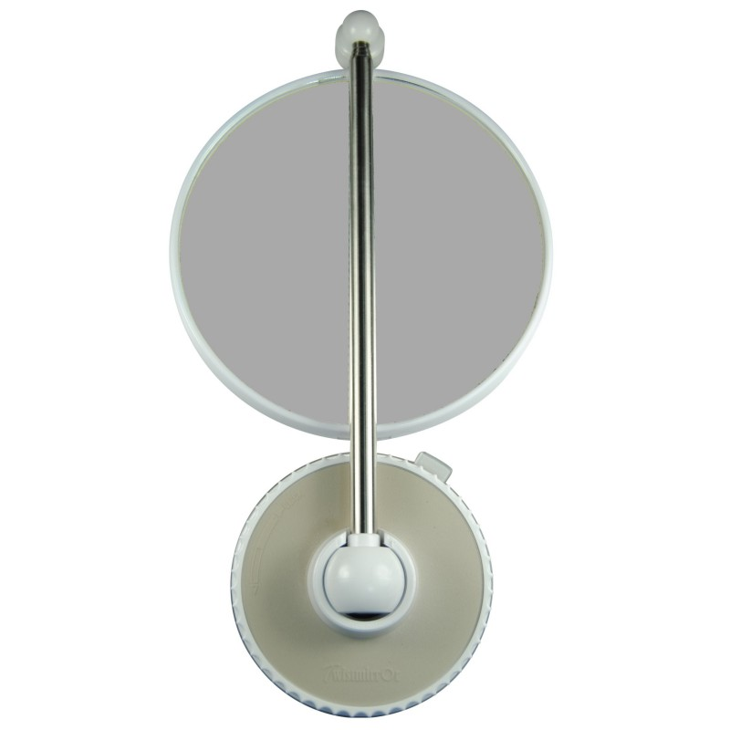 Twistmirror Miroir Intelligent Grossissant 6x Magnifying Mirror Or 10x